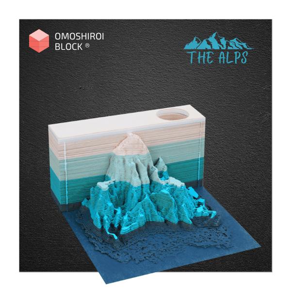 Alps Omoshiroi Block 3D Memo Pad
