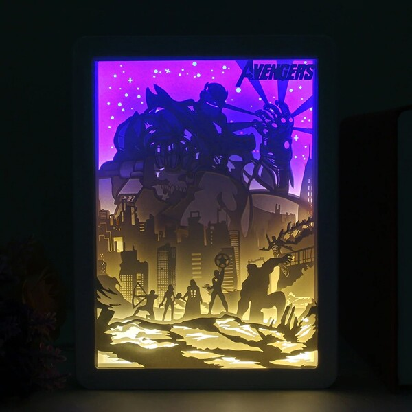 Avenger Omoshiroi Block Light Box 2