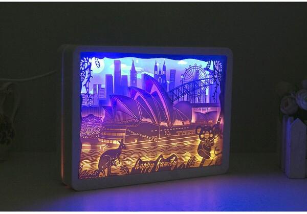Omoshiroi Block Opera House Light Box 2