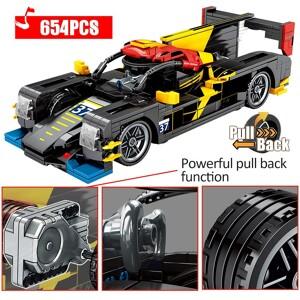 SEMBO 705800 Jackie Chan DC Team Building Block Model 1:18 Pull Back