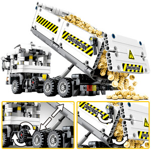 SEMBO 701704 Mechanical password: engineering earth truck Technic