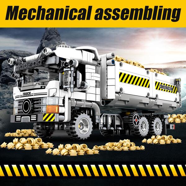 SEMBO 701704 Mechanical password: engineering earth truck Technic