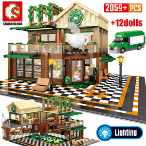 SEMBO 601093 Casual coffee house lighting Street View