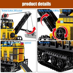 SEMBO 107026 Wandering Earth: Wandering Earth Mining Machinery-Forklift Technic