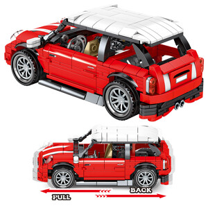 SEMBO 701503 Juggernaut Hurricane: MINI Sports Car Pull Back Technic