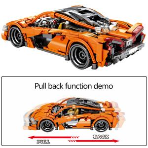SEMBO 701708 McLaren P1 pull back car Super Car