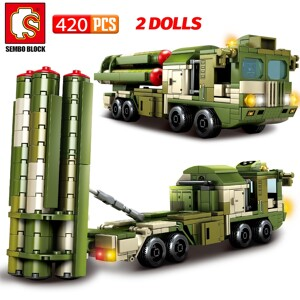 SEMBO 105768 Hongqi-9-Long Range Air Defense Missile Technic