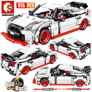 SEMBO 701712 Nissan GTR Pull Back Car