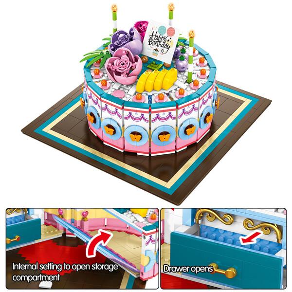 SEMBO 601400 Cake gift box Street View