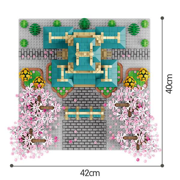 SEMBO 601079 Cherry blossom season: Wuhan University cherry blossoms Street View