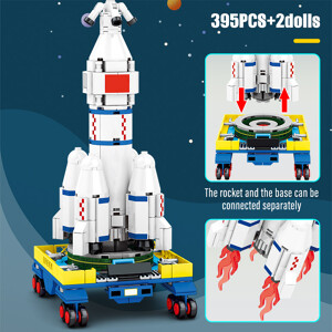 SEMBO 203012 Super Meng Rocket: Long March 5 (CZ-5) carrier rocket Space Flight
