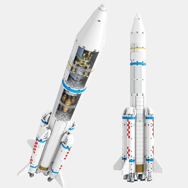 SEMBO 203307 Aerospace Cultural and Creative: Cryogenic Liquid Bundled Launch Vehicle